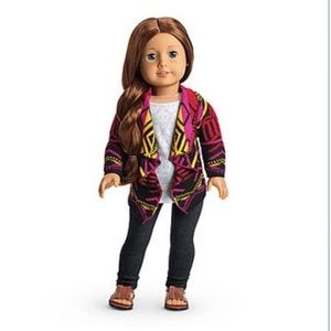 AUTHENTIC American Girl Saige's Sweater Outfit